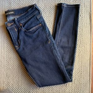Express Mid rise legging skinny jeans size 4s